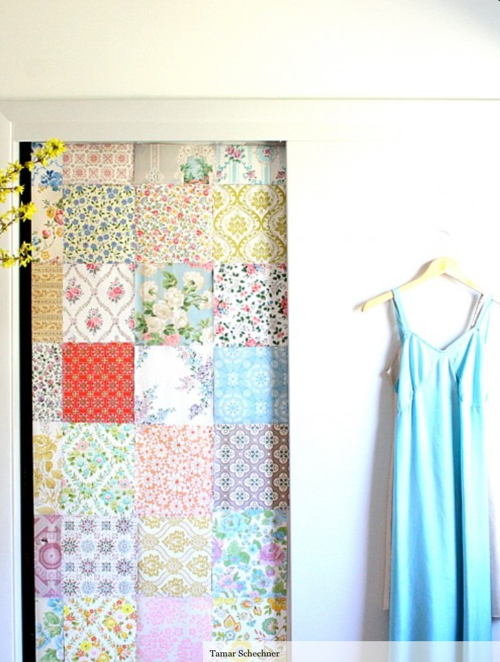 Cover Closet Doors #43 - Budget Decorating Ideas - WordPress.com