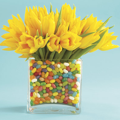 Easter Candy Centerpieces